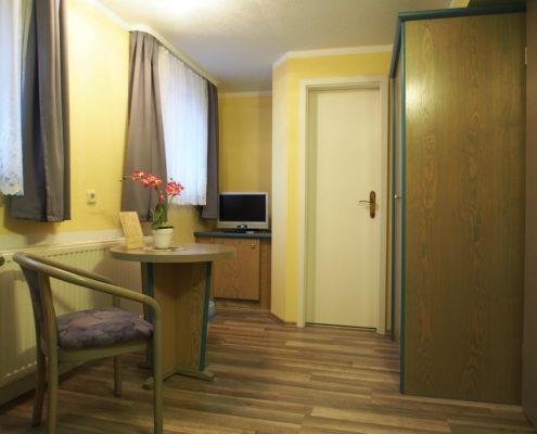 Pensionszimmer Einzelzimmer